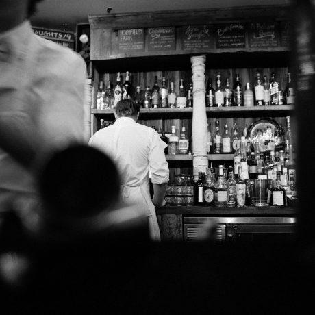 barra de bar old-fashioned