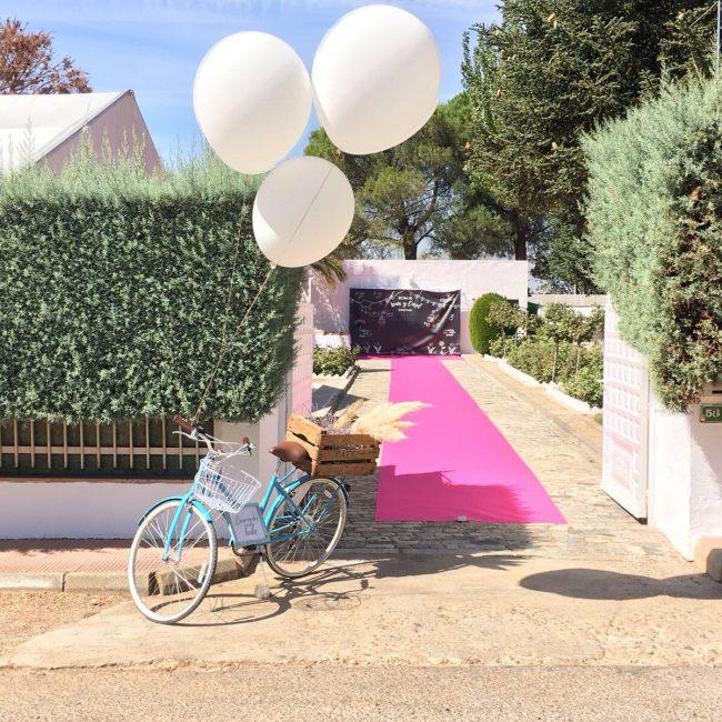 decoración de boda. evento privado