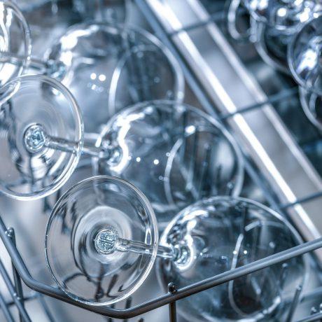 copas limpias en lavavajillas